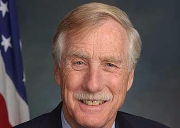 photo of Angus King